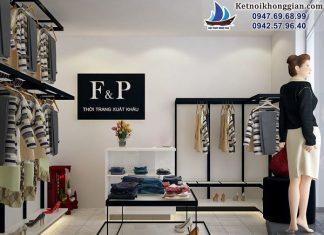 Thiết kế shop thời trang xuất khẩu