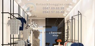 Thiết kế cửa hàng thời trang nữ