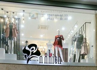 Thi công shop thời trang
