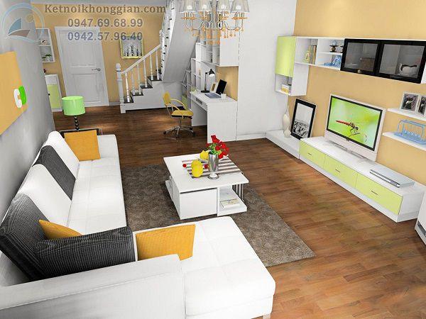 Thiết kế phòng khách 17m2