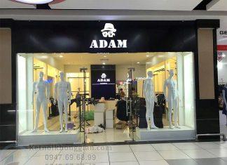 Thi công shop thời trang nam
