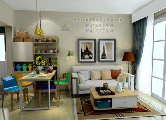 Thiết kế chung cư 65m2