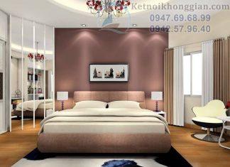 Thiết kế phòng ngủ chung cư 20m2
