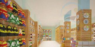 Cải tạo thiết kế nội thất nhà sách