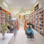 Thiết kế nội thất nhà sách