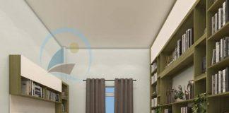 Thiết kế phòng đọc sách kiêm phòng làm việc