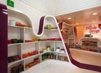 Thiết kế shop kẹo ngọt