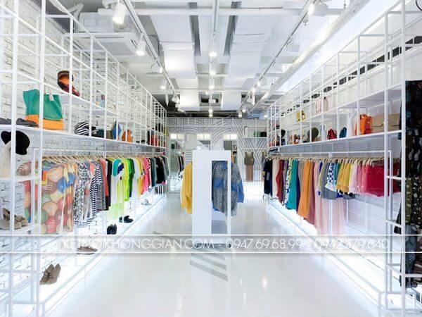 Thiết kế shop túi xách