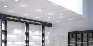 Thiết kế showroom thiết bị điện
