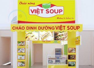 Thiết kế cửa hàng cháo dinh dưỡng
