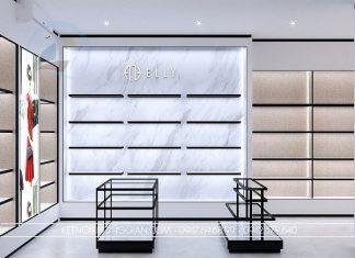 Thiết kế cửa hàng túi xách