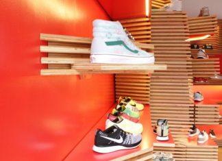Thiết kế shop giày