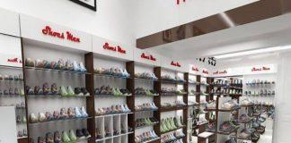 Thiết kế shop giày dép đơn giản mà hiệu quả