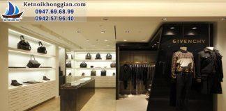 Thiết kế shop thời trang nam