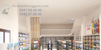Thiết kế siêu thị mini