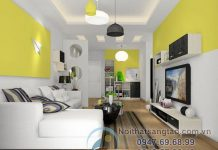 Thiết kế phòng khách chung cư