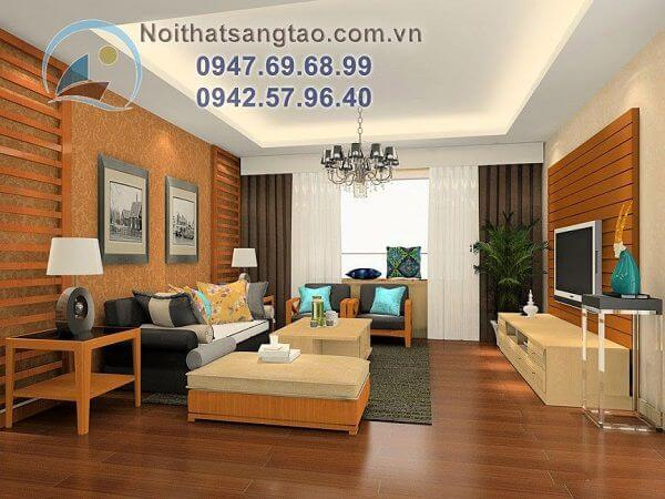 Thiết kế nội thất chung cư 52m2