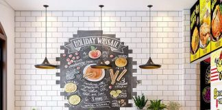 Thiết kế cửa hàng gà rán