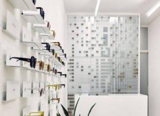 Thiết kế shop thời trang kính mắt