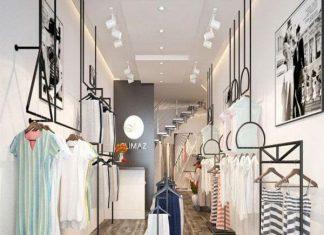 mẫu thiết kế shop thời trang đẹp