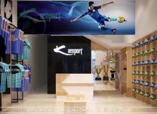 Thiết kế shop thời trang thể thao