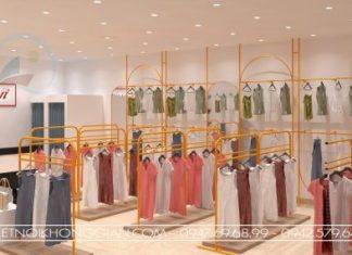 Thiết kế shop thời trang theo phong thủy