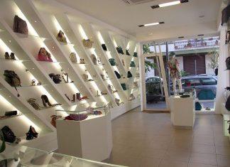 Thiết kế shop túi xách cao cấp